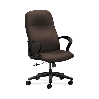 Gamut High-back Executive Chair Upholstery: Mocha