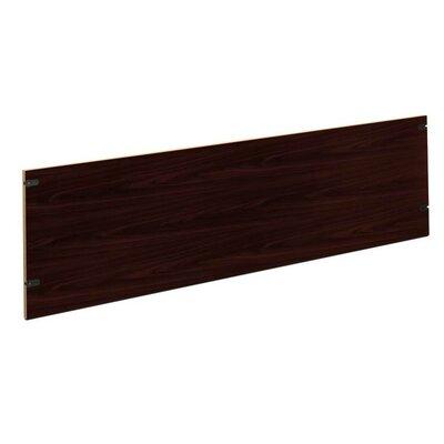 "10500 Series 18.5"" H Desk Privacy Panel Finish: Mahogany, Size: 72"" W"