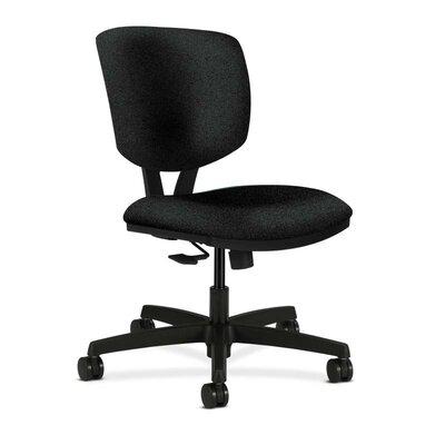 Volt Desk Chair Upholstery: Black, Seat Mechanism: Synchro Tilt, Upholstery Material: Polyurethane
