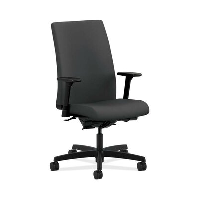 Ignition High-Back Executive Chair Upholstery: Carbon, Seat Mechanism: Synchro Tilt, Seat Glide, Upholstery Material: Vinyl