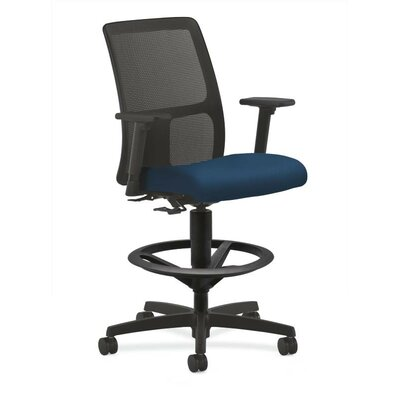 Ignition High-Back Mesh Desk Chair Upholstery: Mariner, Seat Mechanism: Center Tilt, Arms: Fixed Arms