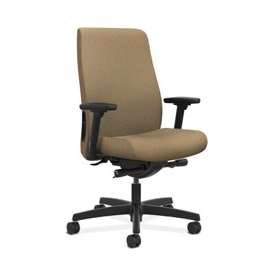 Endorse Mid-Back Desk Chair Upholstery: Taupe, Arms: Adjustable Arms