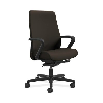 Endorse Mid-Back Desk Chair Upholstery: Espresso, Arms: Adjustable Arms