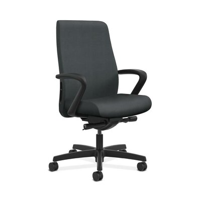 Endorse Mid-Back Desk Chair Upholstery: Onyx, Arms: Adjustable Arms