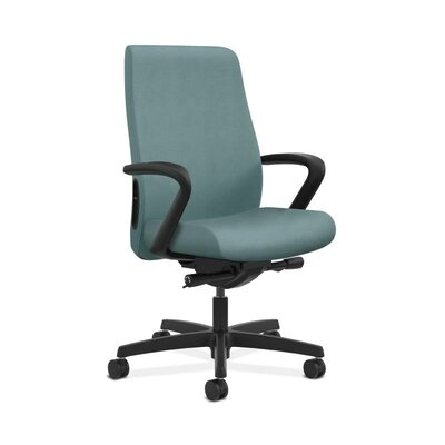 Endorse Mid-Back Desk Chair Upholstery: Surf, Arms: Adjustable Arms