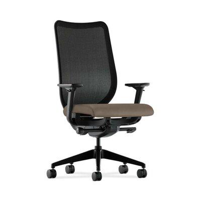 Nucleus High-Back Mesh Desk Chair Upholstery: Antelope, Back Color: Black