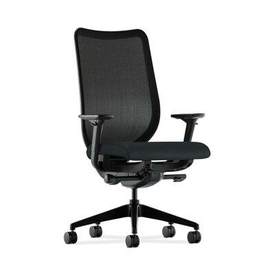 Nucleus High-Back Mesh Desk Chair Upholstery: Navy, Back Color: Fog