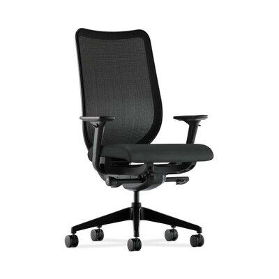Nucleus High-Back Mesh Desk Chair Upholstery: Charcoal, Back Color: Fog