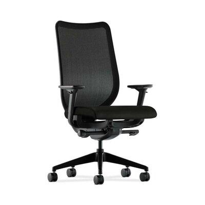 Nucleus High-Back Mesh Desk Chair Upholstery: Black, Back Color: Fog