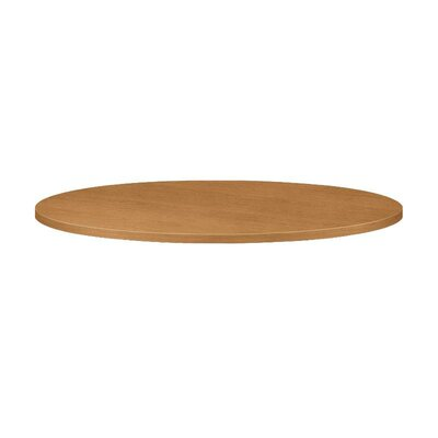 Preside Laminate Round Table Top Color: Harvest