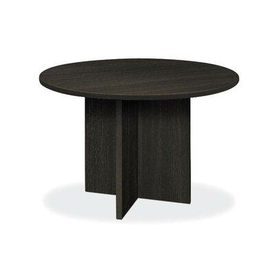"""Circular 29.5""""H x 48""""W x 48""""L Conference Table Finish: Espresso"""