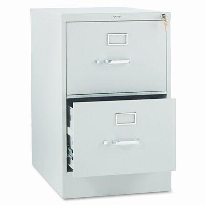 310 Series 2-Drawer Vertical Filing Cabinet Finish: Light Gray