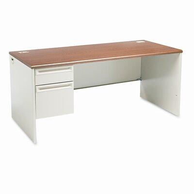 38000 Series Desk Orientation: Right, Finish: Light Gray