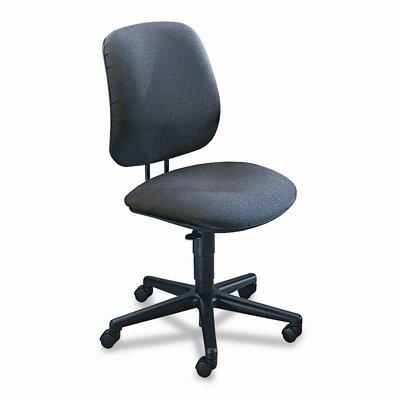7700 Series Mid-Back Desk Chair Upholstery: Gray