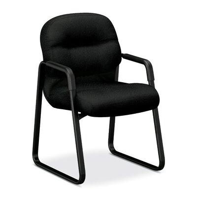 Pillow-Soft Series Guest Chair Fabric: Black