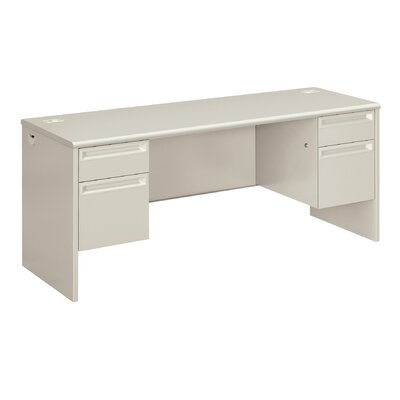 "38000 Series Desk Finish: Light Gray, Size: 29.5"" H x 72"" W x 24"" D"