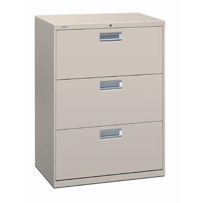"600 Series 30""W 3-Drawer File Finish: Putty"