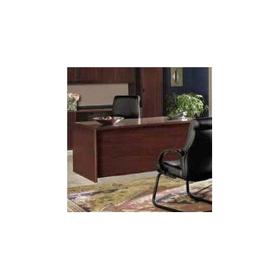 10700 Series Large Executive Desk Finish: Mahogany