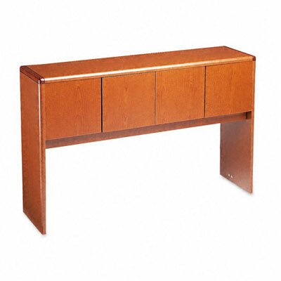 "10700 Series 37.13"" H x 56.63"" W Desk Hutch Finish: Henna Cherry"