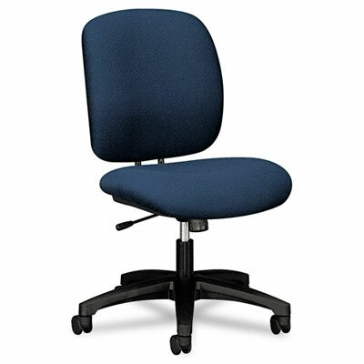 ComforTask Mid-Back Desk Chair Upholstery: Blue