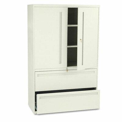 700 Series 2 Door Storage Cabinet Finish: Putty