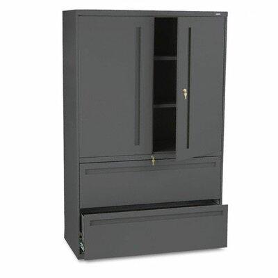 700 Series 2 Door Storage Cabinet Finish: Charcoal