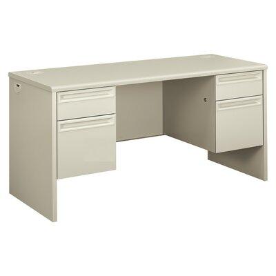 "38000 Series Desk Finish: Light Gray, Size: 29.5"" H x 60"" W x 24"" D"