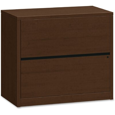 10500 Series 2-Drawer Lateral Filing Cabinet Finish: Mocha