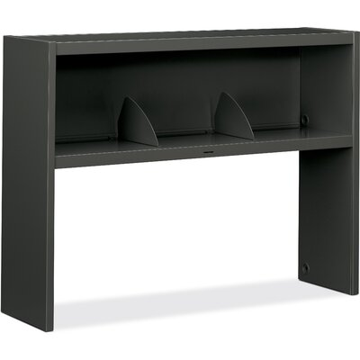 "38000 Series 19.5"" H x 53.2"" W Hutch Finish: Charcoal"