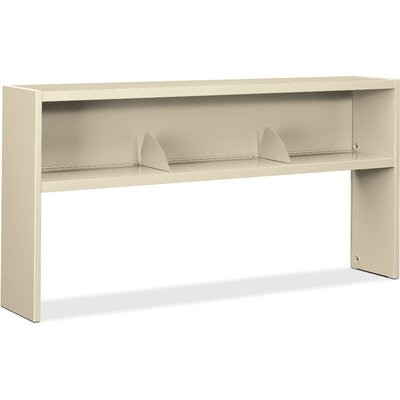 "38000 Series 19.5"" H x 77.3"" W Hutch Finish: Putty"