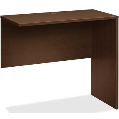 "10500 Series 52.8"" W x 3.8"" D Right Desk Return Finish: Mocha"