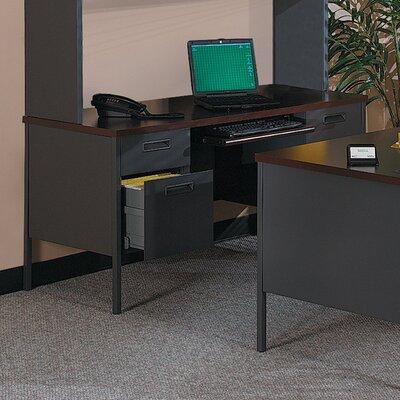 "Metro Classic Writing Desk Size: 29.5"" H x 62.75"" W x 32.75"" D, Finish: Mahogany"