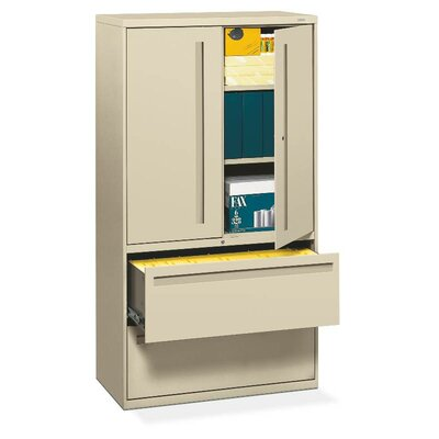 Brigade 700 Series 2-Drawer Vertical Filing Cabinet Finish: Putty