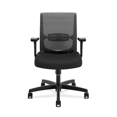 Convergence Ergonomic Mesh Office Chair Color: Black