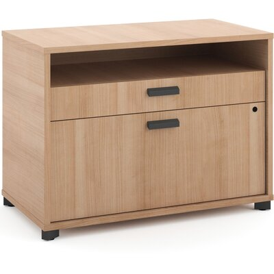 Manage Credenza 2-Drawer Lateral Filing Cabinet Finish: Beige