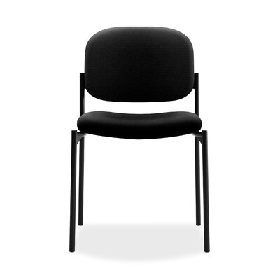 Stacking Guest Chair Color: Black