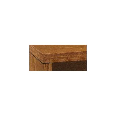 "10500 Series 29.5"" H x 42"" W Desk Bridge Finish: Medium Oak"