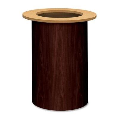 Preside Table Cylinder Base Finish: Mahogany