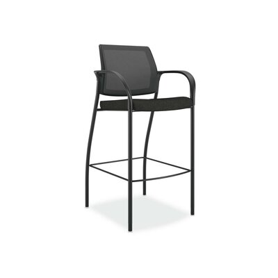 Ignition Cafe Height Stool Color: Black