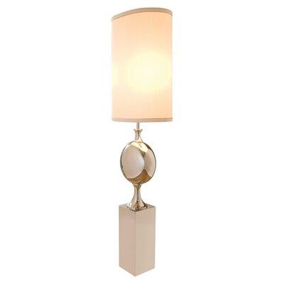 "Global Views Switch on the Lights Big Pill Nickel 79"" Floor Lamp"