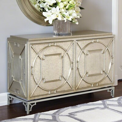 Arabesque 2 Door Accent Cabinet