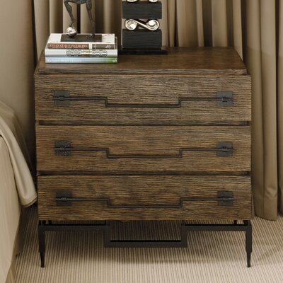 3 Drawer Wide Chest