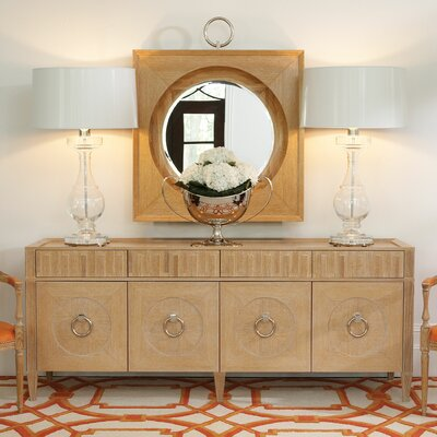 French Key Everything Accent Cabinet Color: Light Limed