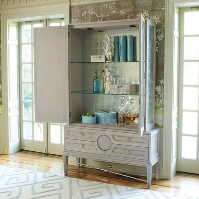 Collector's Accent Cabinet Color: Gray