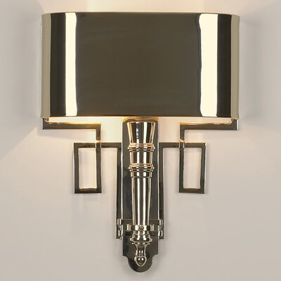 Global Views Hardwired 2 Light Torch Sconce