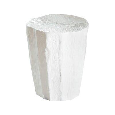 Trunk Garden Stool Color: White