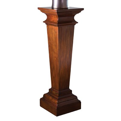 Williamsburg York Pedestal Plant Stand Color: Walnut