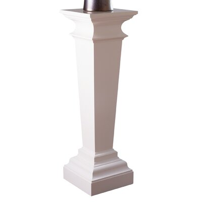 Williamsburg York Pedestal Plant Stand Color: Ivory