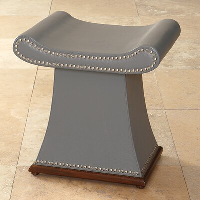 Sultan Vanity Stool Color: Grey