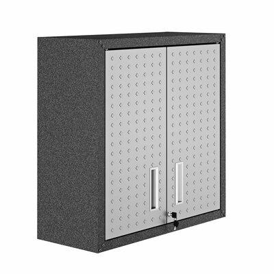 "Fortress 30"" H x 30"" W x 12"" D Floating Garage Storage Cabinet"